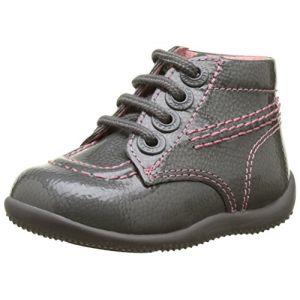 Kickers Boots enfant Billista Gris - Taille 18,19,20,21,22,23,24