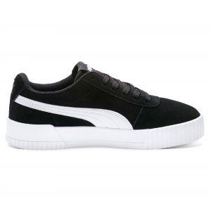 Puma Chaussure Basket Carina pour Femme, Noir/Argent, Taille 38