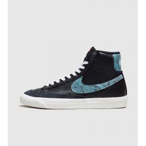 Nike Baskets montantes Blazer Mid '77 Vintage WE cuir effet reptile Noir