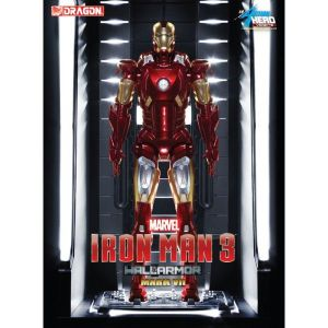Dragon models Iron Man 3 Vignette 1/9 Mark VII Hall of Armor