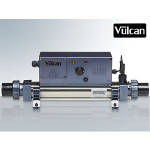 Vulcan Réchauffeur Analogue Titane 6 kW monophasé