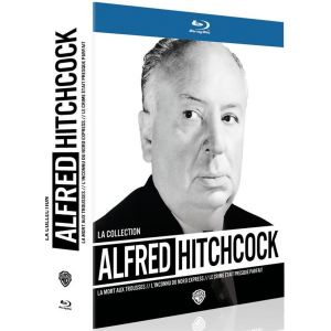 La Collection Alfred Hitchcock - La Mort aux Trousses + L'inconnnu du Nord-Express + Le Crime était Presque Parfait