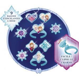 Lansay Mes bagues brillantes à créer La Reine des neiges