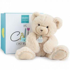 Doudou et Compagnie Peluche ours beige (22 cm)