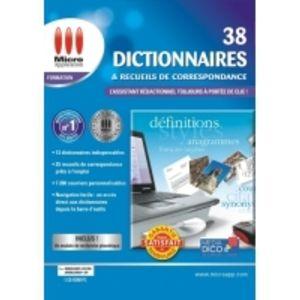 38 Dictionnaires et Recueils de correspondance - 2009 [Windows]