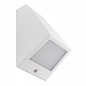 Led C4 Leds C4 - Applique extérieure inclinée Angle LED IP54 - Blanc