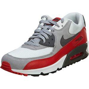 Nike Chaussures enfant AIR MAX 90 ENFANT - Couleur 38,38 1/2 - Taille Blanc