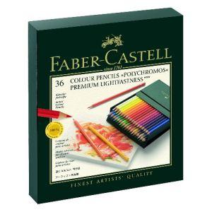 Faber-Castell 36 Crayons de couleur Polychromos assortis
