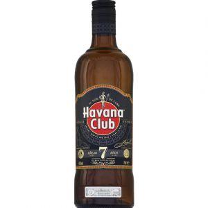 Havana Club Rhum brun 7ans d'âge 40%Vol.