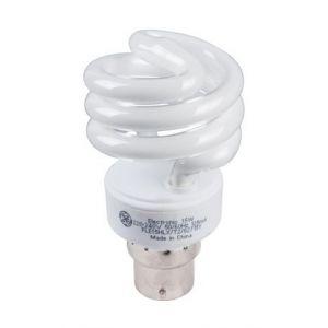 General Electric Lampe Spirale T2 B22 | Eco-contribution: 0.15 %u20AC - Puissance: 15 W - Durée de vie: 10000 h - L. x Ø (mm): 100 x 53 - Lumen: 950 lm