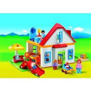 Playmobil 6768 - 1.2.3 : Coffret Grande maison