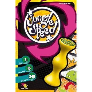 Asmodée Jungle Speed édition spéciale (totem jaune)