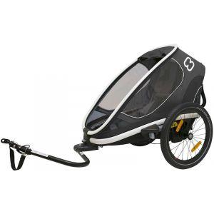 Hamax Outback One Remorque vélo, grey Remorques pour enfant