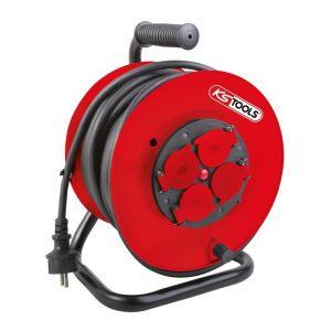 KS Tools Enrouleur électrique sur touret 3 x 2,5 mm² 150.4224