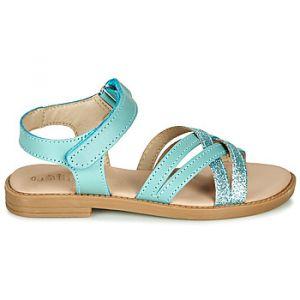 Mod'8 Sandales enfant GIHA - Couleur 29 - Taille Bleu