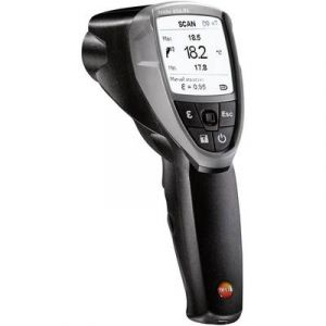 Testo Thermomètre infrarouge et à contact Optique 50:1, -30 à +600°C 835