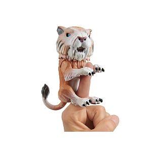 Wow wee Bébé Tigre à dent de sabre Fingerlings Marron / Bonesaw