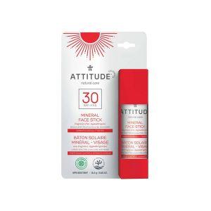 Attitude Bâton Solaire - Hypoallergénique Sans Fragrance - 18,4 g - SPF 30