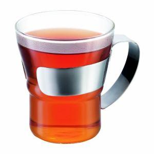 Bodum 4552-16 - 2 verres à thé Assam avec anse (30 cl)