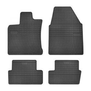 DBS 1765899 Tapis Auto en Caoutchouc - Sur Mesure - Tapis de sol pour Voiture - 4 Pièces - Caoutchouc Haute Qualité - Inodore - Antidérapant - Rebords Surélevés