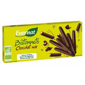 evernat batonnets chocolat noir 150g comparer avec. Black Bedroom Furniture Sets. Home Design Ideas