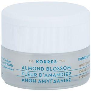 Korres Almond Blossom crème hydratante pour peaux grasses à mixtes40ml