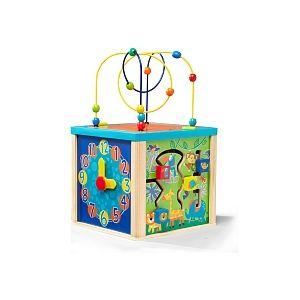 Universe of Imagination Cube d'activité en bois 5 en 1