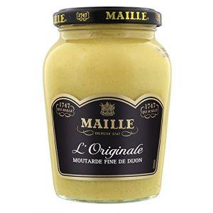 Maille Moutarde Fine de Dijon L'Originale Forte - Bocal de 215 g