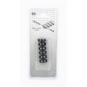 Barette domino 12 embouts 4 mm² 20 A