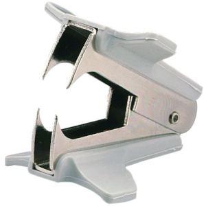 Rexel 08115 - Arrache-agrafe en métal avec manche en plastique