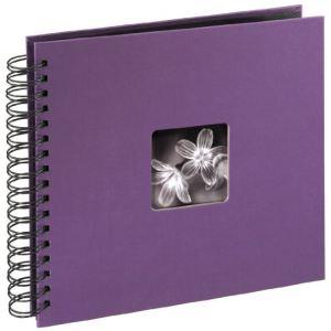 """Hama 94879 - Album photo à siprale """"Fine Art"""" 50 pages (10x15 cm)"""