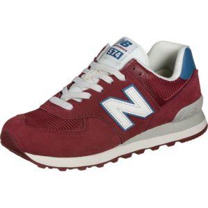 New Balance Ml574 chaussures bordeaux rouge T. 44,5