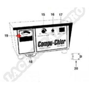 Procopi 9103110 - Indicateur de chlore de Compu-Chlor luxe