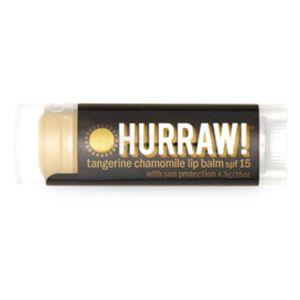 Hurraw! Baume à lèvres Protecteur Solaire SPF15 4,3g