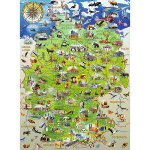 Ravensburger Pièces XXL - Carte de l'Allemagne