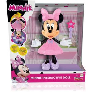 IMC Toys Figurine musicale Minnie baguette magique