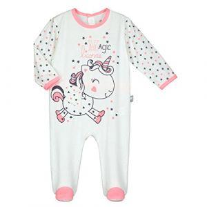 9c3e5a60d0c79 Image de Petit Béguin Pyjama bébé Magic Licorne - Ecru - Manches longues