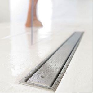 Wirquin Venisio - Caniveau de douche à carreler avec grille 50 mm (800 mm)
