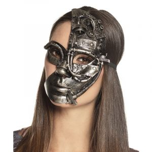 Demi-Masque Steampunk femme