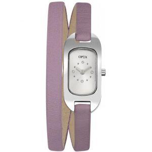 OPEX Paris X0391LG - Montre pour femme avec bracelet double Ballerine