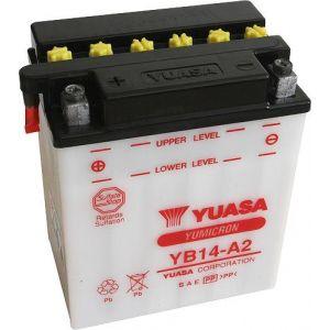 Yuasa Batterie moto YB14-A2