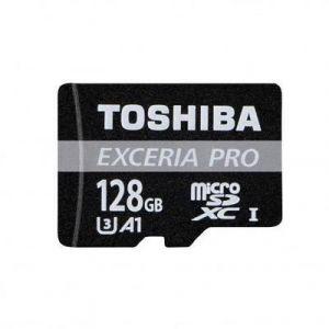 Toshiba EXCERIA PRO M401 - Carte microSDXC 128 Go Class 10 UHS-I avec adaptateur SD