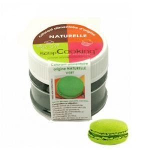 Scrapcooking 4201 - Colorant alimentaire origine naturelle vert