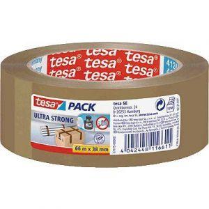 Tesa 57175-00000-02 - Ruban adhésif Pack Ultra Strong, 38 mm x 66 m, en PVC marron