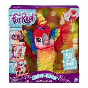 Hasbro FURREAL FRIENDS - SHOW-COCO, mon perroquet star - Peluche Interactive