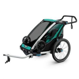 Thule Remorque de vélo enfant Chariot Lite 1 Bluegrass noir 2019 vert