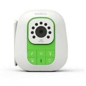 Belkin Baby Vidéo (F7C037QM) - Écoute-bébé numérique dect avec caméra vision nocturne