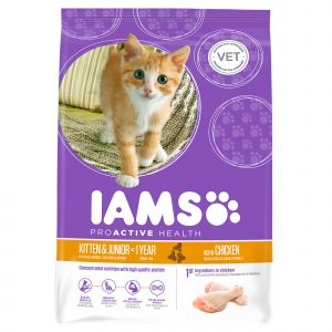 IAMS Pro Active Health Kitten & Junior pour chaton - 2,55 kg