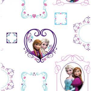 Papier peint La Reine Des Neiges Anna et Elsa