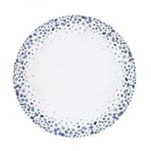 Medard de noblat Lolly Pop - Coffret 6 assiettes plates Blanc